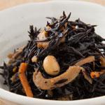 九州の柔らか芽ひじきと大豆の京風煮物
