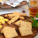 天然酵母を使ったパンと同じ原料で焼いたクッキー