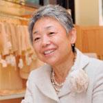 世界に誇れる日本の技術を オーガニックコットンで表現<br><small>株式会社アバンティの代表取締役社長渡邊智惠子氏</small>