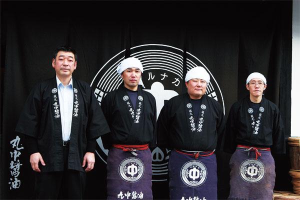 丸中醤油株式会社 代表取締役社長 中居 真和さん