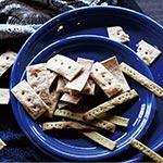 玄米粉と古代麦ファッロの クラッカー